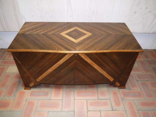 Cabinet makers chest, kauri pine with secret drawer, Australian 19th century